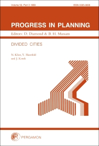 Cover image for Progress in Planning, Volume 52