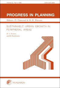 Cover image for Sustainable Urban Growth in Peripheral Areas