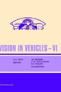 Vision in Vehicles VI - 1st Edition - ISBN: 9780080435794, 9780080913025