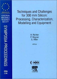Cover image for Techniques and Challenges for 300 mm Silicon: Processing, Characterization, Modelling and Equipment