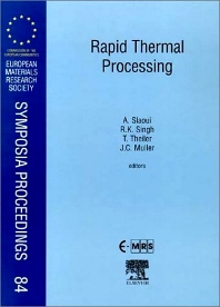 Cover image for Rapid Thermal Processing