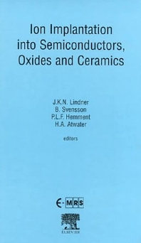Cover image for Ion Implantation into Semiconductors, Oxides and Ceramics