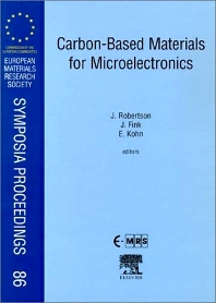 Carbon-Based Materials for Micoelectronics, 1st Edition,J. Robertson,J. Fink,E. Kohn,ISBN9780080436142