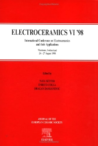 Electroceramics VI '98 - 1st Edition - ISBN: 9780080436197