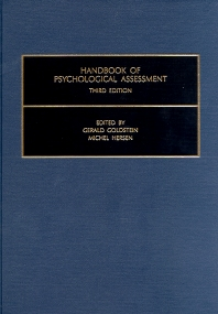 Handbook of Psychological Assessment, 3rd Edition,G. Goldstein,Michel Hersen,ISBN9780080436456