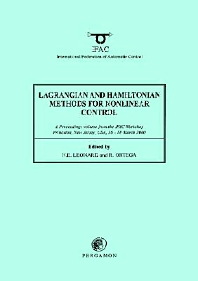 Lagrangian and Hamiltonian Methods for Nonlinear Control 2000 - 1st Edition - ISBN: 9780080436586, 9780080913117