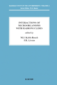 Cover image for Interactions of Microorganisms with Radionuclides