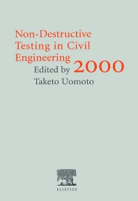 Cover image for Non-Destructive Testing in Civil Engineering 2000