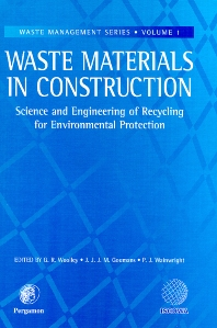 Cover image for Waste Materials in Construction