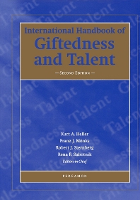 International Handbook of Giftedness and Talent - 2nd Edition - ISBN: 9780080974613, 9780080544168