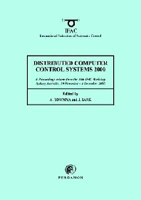 Cover image for Distributed Computer Control Systems 2000