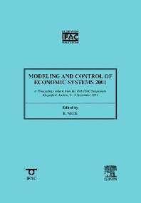 Cover image for Modeling and Control of Economic Systems 2001