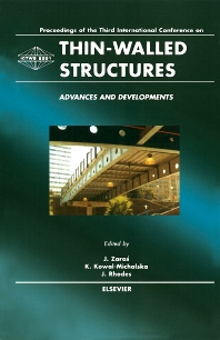 Thin-Walled Structures - Advances and Developments - 1st Edition - ISBN: 9780080439556, 9780080551708
