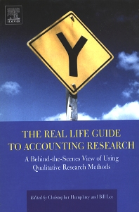 The Real Life Guide to Accounting Research - 1st Edition - ISBN: 9780080439723, 9780080515861