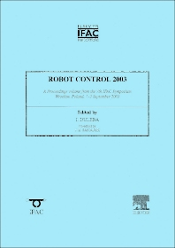 Cover image for Robot Control 2003