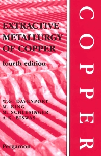 Extractive Metallurgy of Copper - 1st Edition - ISBN: 9781483299594, 9780080531526