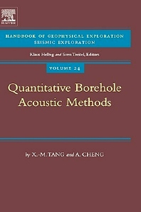 Quantitative Borehole Acoustic Methods, 1st Edition,X.M. Tang,A. Cheng,ISBN9780080440514