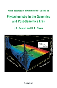 Phytochemistry in the Genomics and Post-Genomics Eras, 1st Edition,John Romeo, Dixon,ISBN9780080441160