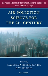 Cover image for Air Pollution Science for the 21st Century