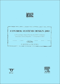 Cover image for Control Systems Design 2003