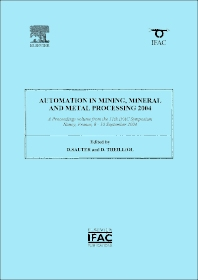Cover image for Automation in Mining, Mineral and Metal Processing 2004