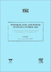 Cover image for Power Plants and Power Systems Control 2003