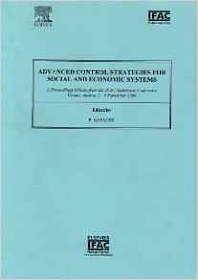 Advanced Control Strategies for Social and Economic Systems, 1st Edition,Peter Kopacek,ISBN9780080442426