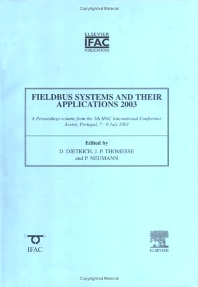 Fieldbus Systems and Their Applications 2003 - 1st Edition - ISBN: 9780080442471, 9780080913636