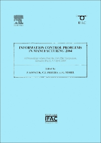 Information Control Problems in Manufacturing 2004 (2-volume set)