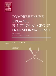 Cover image for Comprehensive Organic Functional Group Transformations II