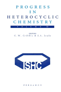 Progress in Heterocyclic Chemistry, 1st Edition,Gordon Gribble,J. Joule,ISBN9780080442877