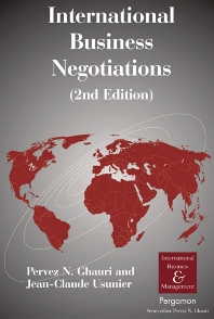 Cover image for International Business Negotiations
