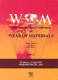 Wear of Materials, 1st Edition,P Blau,ISBN9780080443010