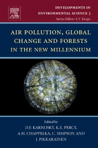 Cover image for Air Pollution, Global Change and Forests in the New Millennium