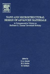 Cover image for Nano and Microstructural Design of Advanced Materials