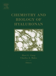 Chemistry and Biology of Hyaluronan, 1st Edition,Hari Garg,Charles Hales,ISBN9780080443829
