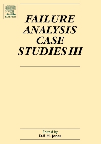 Failure Analysis Case Studies III, 1st Edition,D R H Jones,ISBN9780080444475