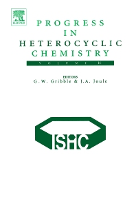Cover image for Progress in Heterocyclic Chemistry