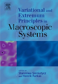 Cover image for Variational and Extremum Principles in Macroscopic Systems