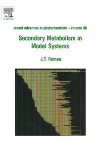 Secondary Metabolism in Model Systems - 1st Edition - ISBN: 9780080445014, 9780080474335