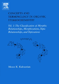 Concepts and Terminology in Organic Stereochemistry