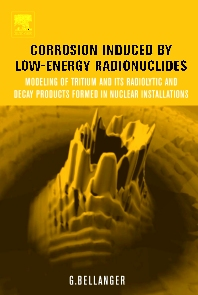 Cover image for Corrosion Induced by Low-Energy Radionuclides