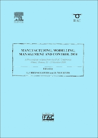 Manufacturing, Modelling, Management and Control 2004 - 1st Edition - ISBN: 9780080445625, 9780080913971