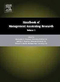 Handbook of Management Accounting Research, 1st Edition,Christopher S. Chapman,Anthony G. Hopwood,Michael D. Shields,ISBN9780080445649