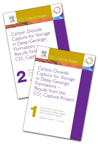Carbon Dioxide Capture for Storage in Deep Geologic Formations - Results from the CO² Capture Project