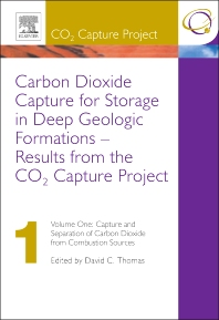 Cover image for Carbon Dioxide Capture for Storage in Deep Geologic Formations - Results from the CO² Capture Project