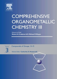 Comprehensive Organometallic Chemistry III, 1st Edition,Catherine Housecroft,ISBN9780080445939