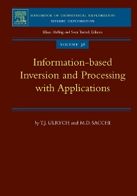 Cover image for Information-Based Inversion and Processing with Applications