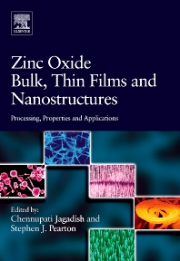 Cover image for Zinc Oxide Bulk, Thin Films and Nanostructures