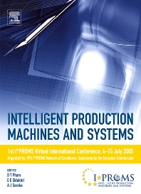 Cover image for Intelligent Production Machines and Systems - First I*PROMS Virtual Conference